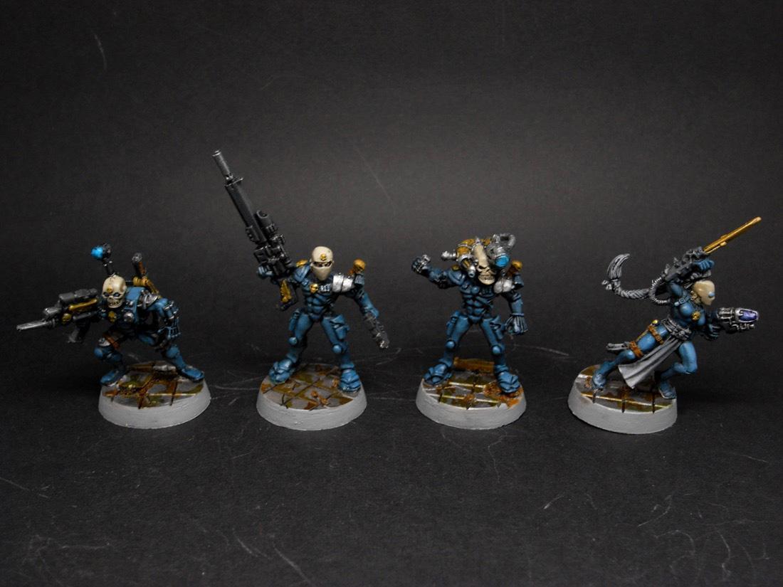 Assassin, Callidus, Conversion, Culexus, Eversore, Rogue Trader, Vindicare