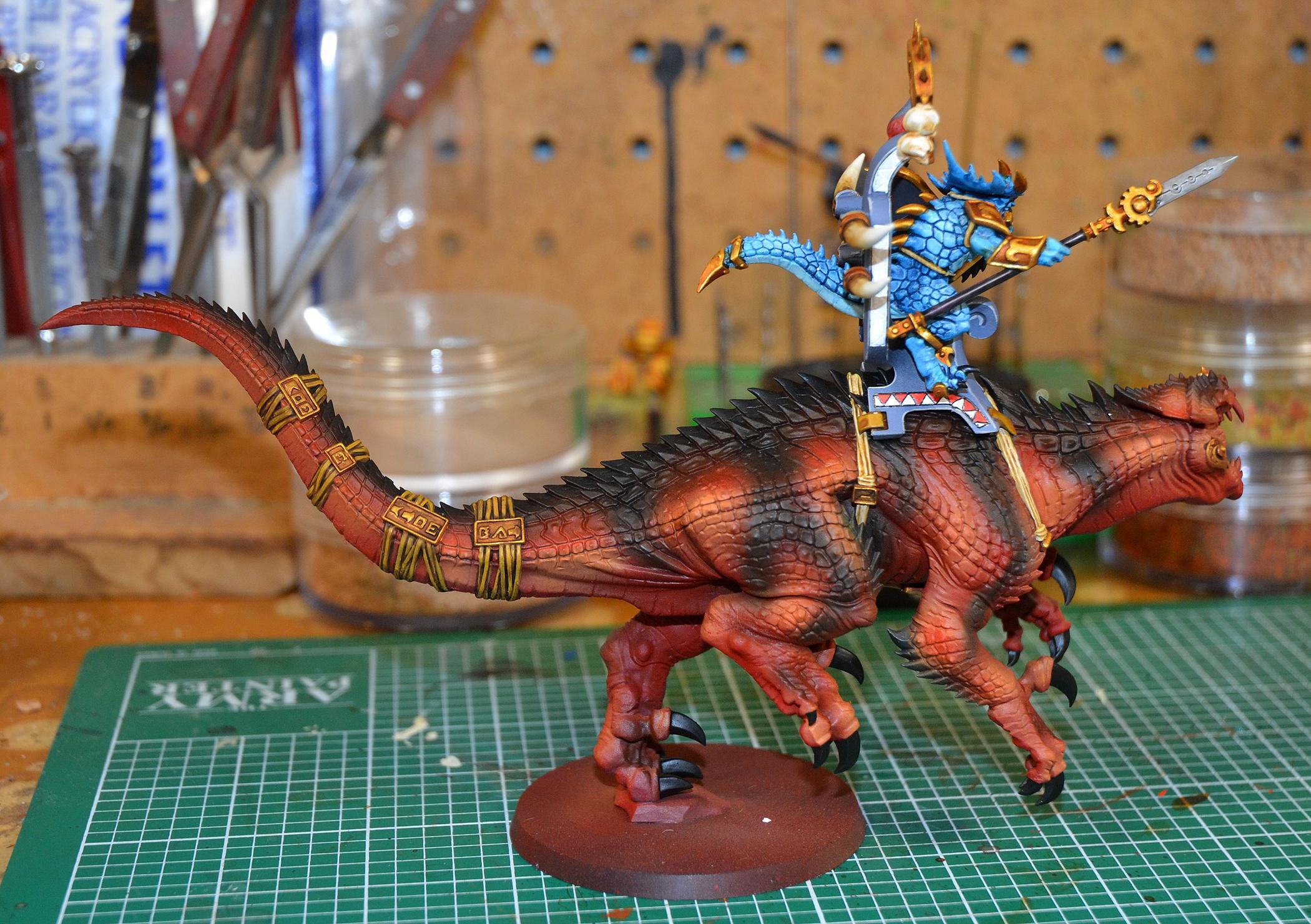 Carnosaur, Lizardmen, Warhammer Fantasy