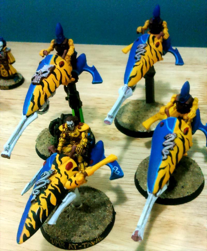 Autarch, Doom Of The Eldar, Eldar, Iyanden, Jetbike