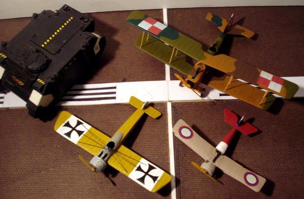 1/72, 1:72, Aerodrome, Aerodrome 1.1, Airplane, Biplane, British, French, Germans, Triplane, Wwi