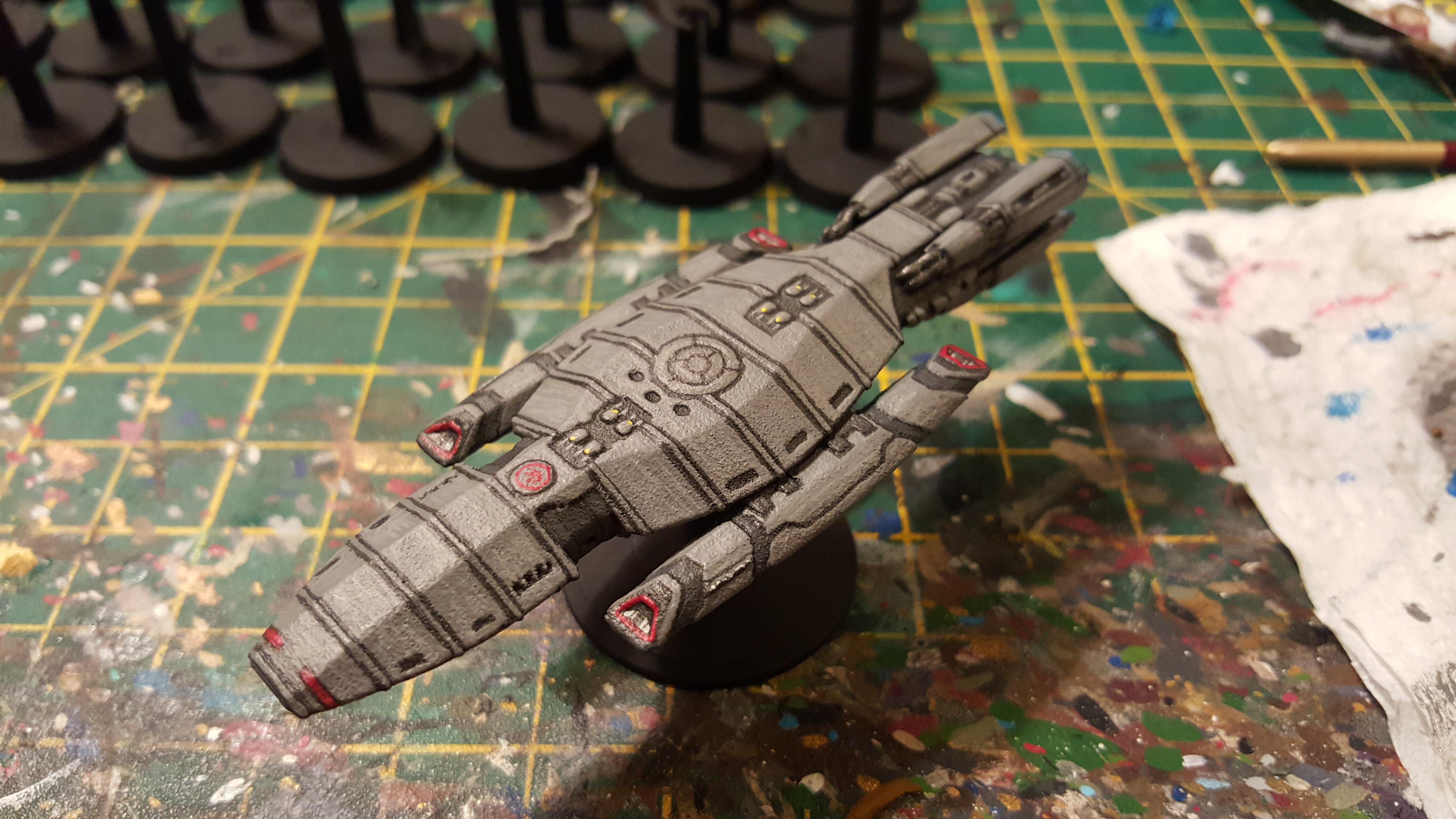 Battlestar, Battlestar Galactica, Space Ship, Stealth