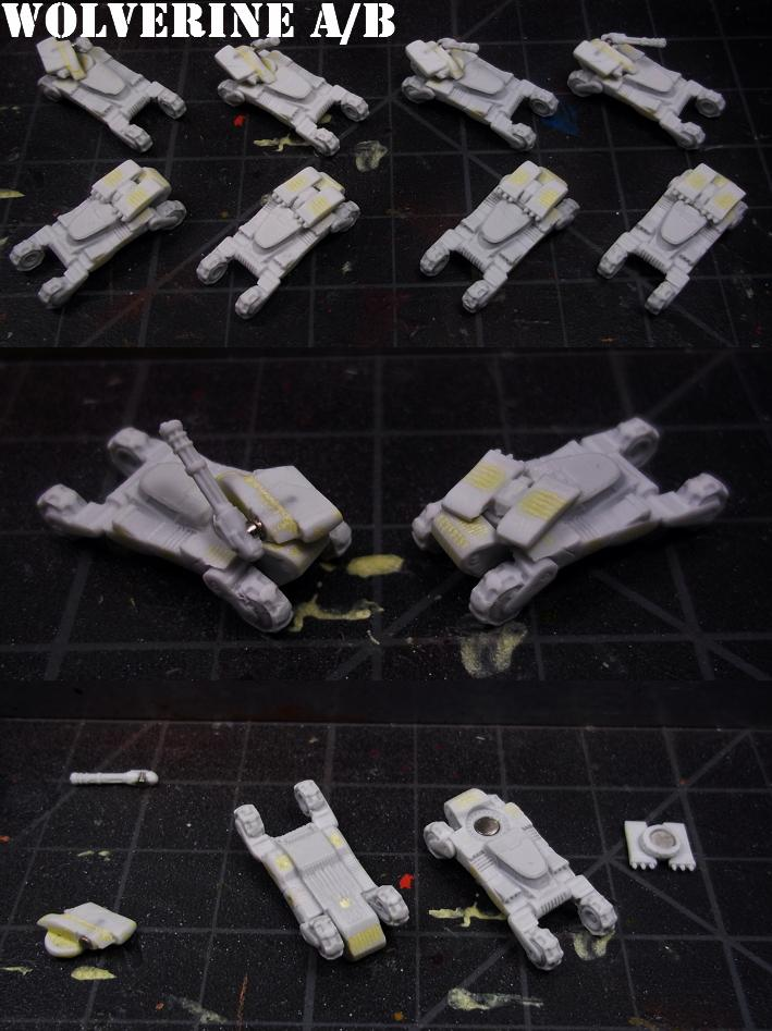 Army, Dropship, Dropzone Commander, Dzc, Tank, Ucm, United Colonies Of Mankind, Wolverine A&b, Work In Progress