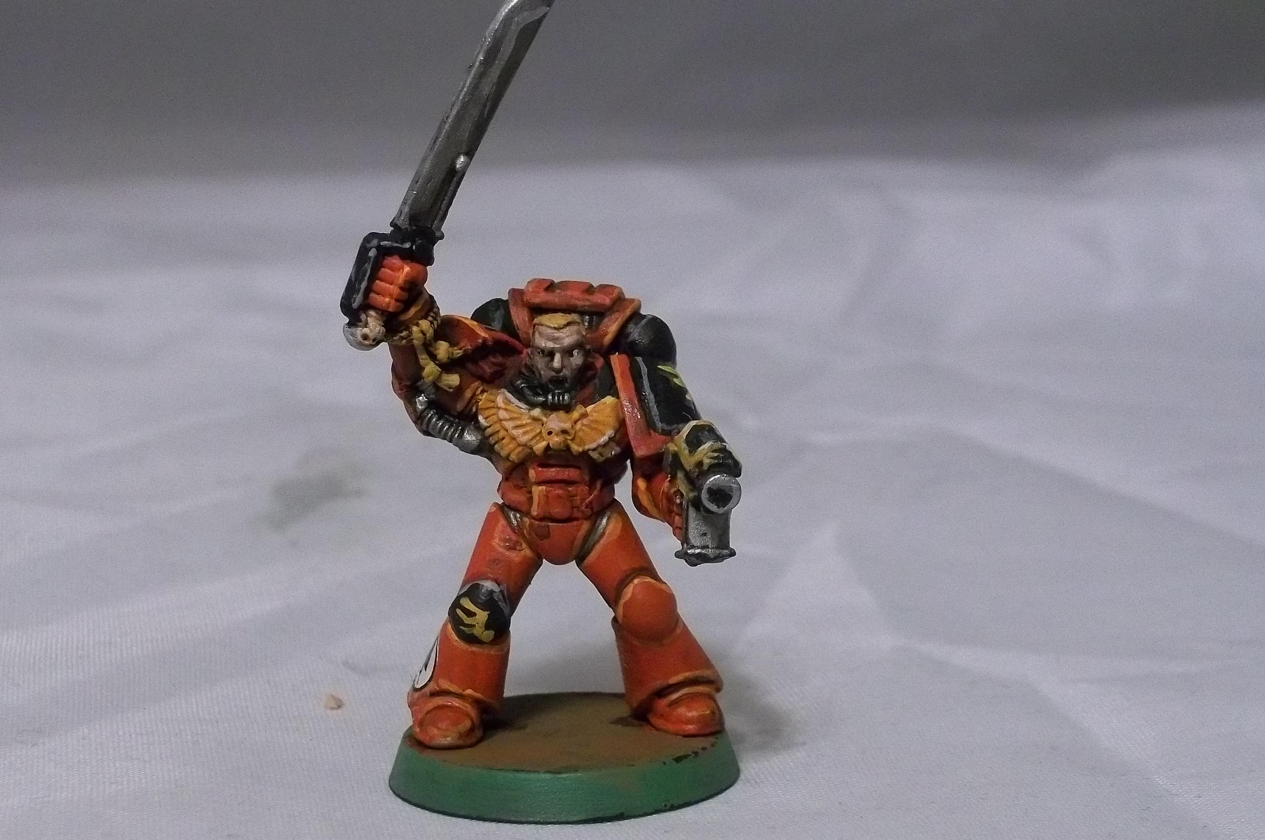 Blood Angels, Retro, Sergeant, Space Marines