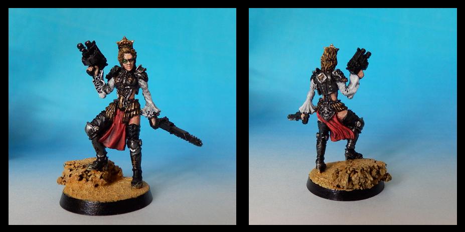 Female, Inquisitor, Kromlech, Warhammer 40,000