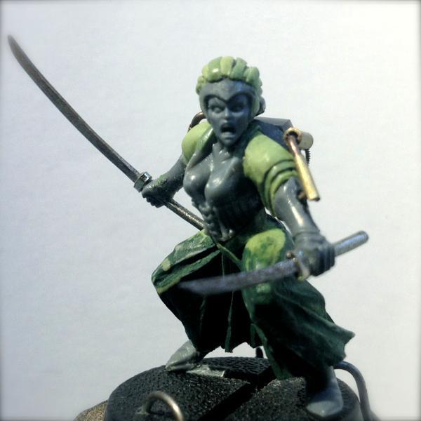 Dark Eldar, Greenstuff, Inquisition, Samurai