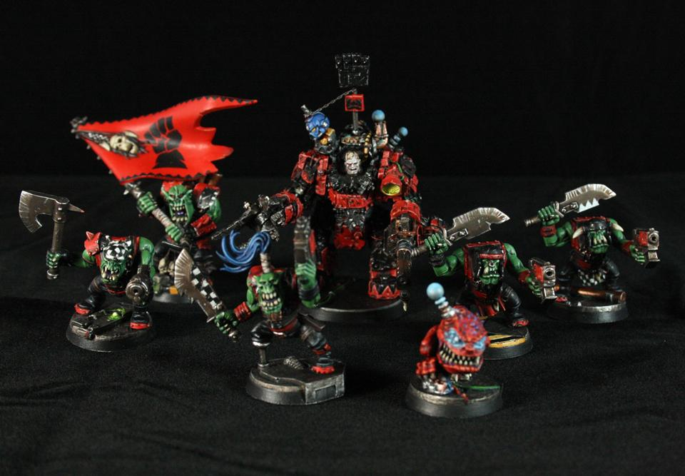 Blackheart, Conversion, Huron, Kromlech, Orks