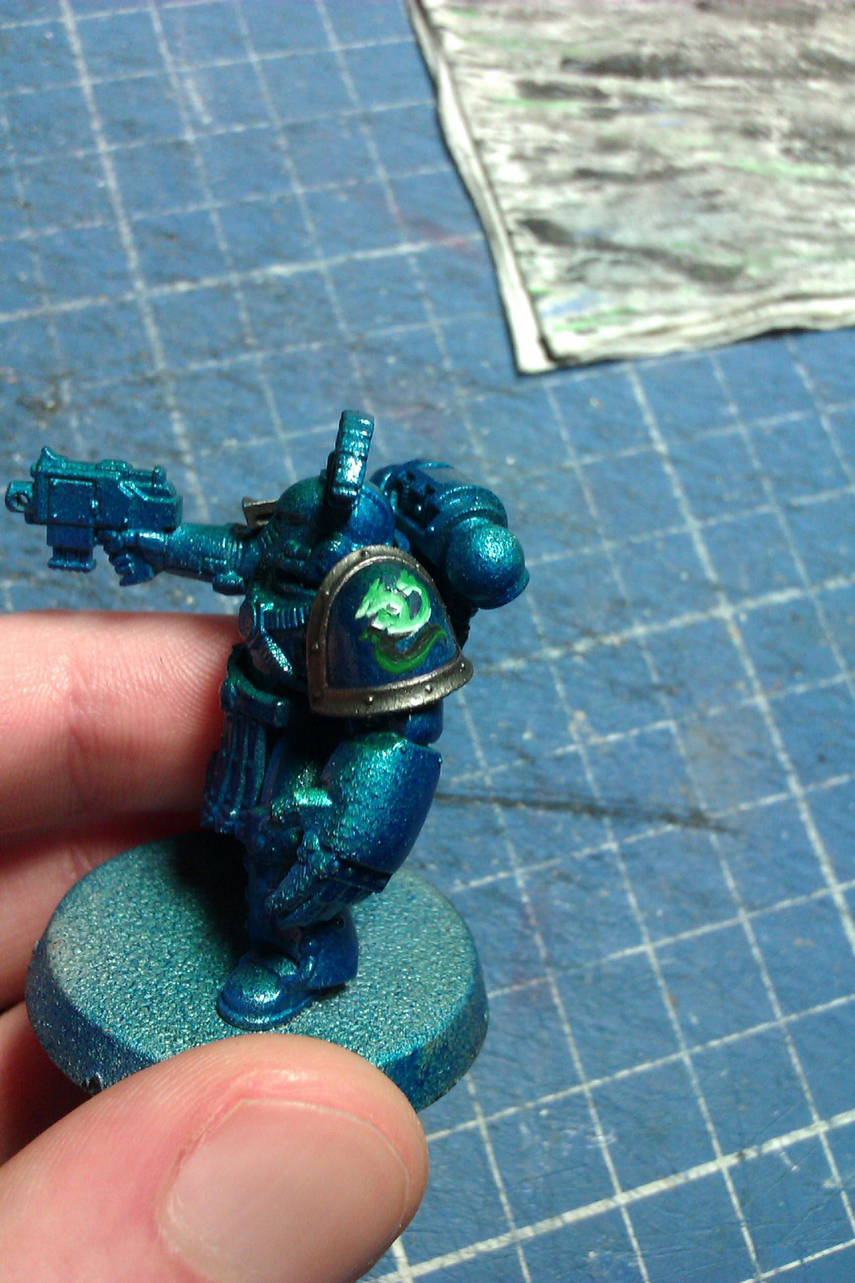 30k, Alpha Legion, Shoulder test - 3