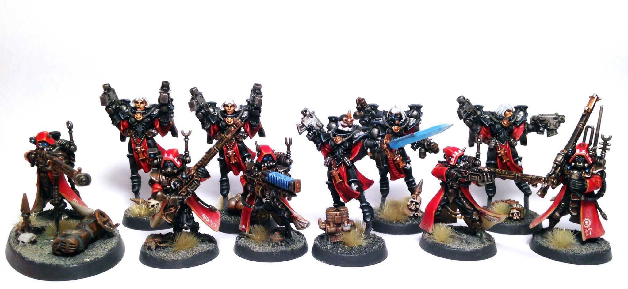 Adeptus Mechanicus, Battle Sisters, Seraphim, Sisters Of Battle, Skitarii