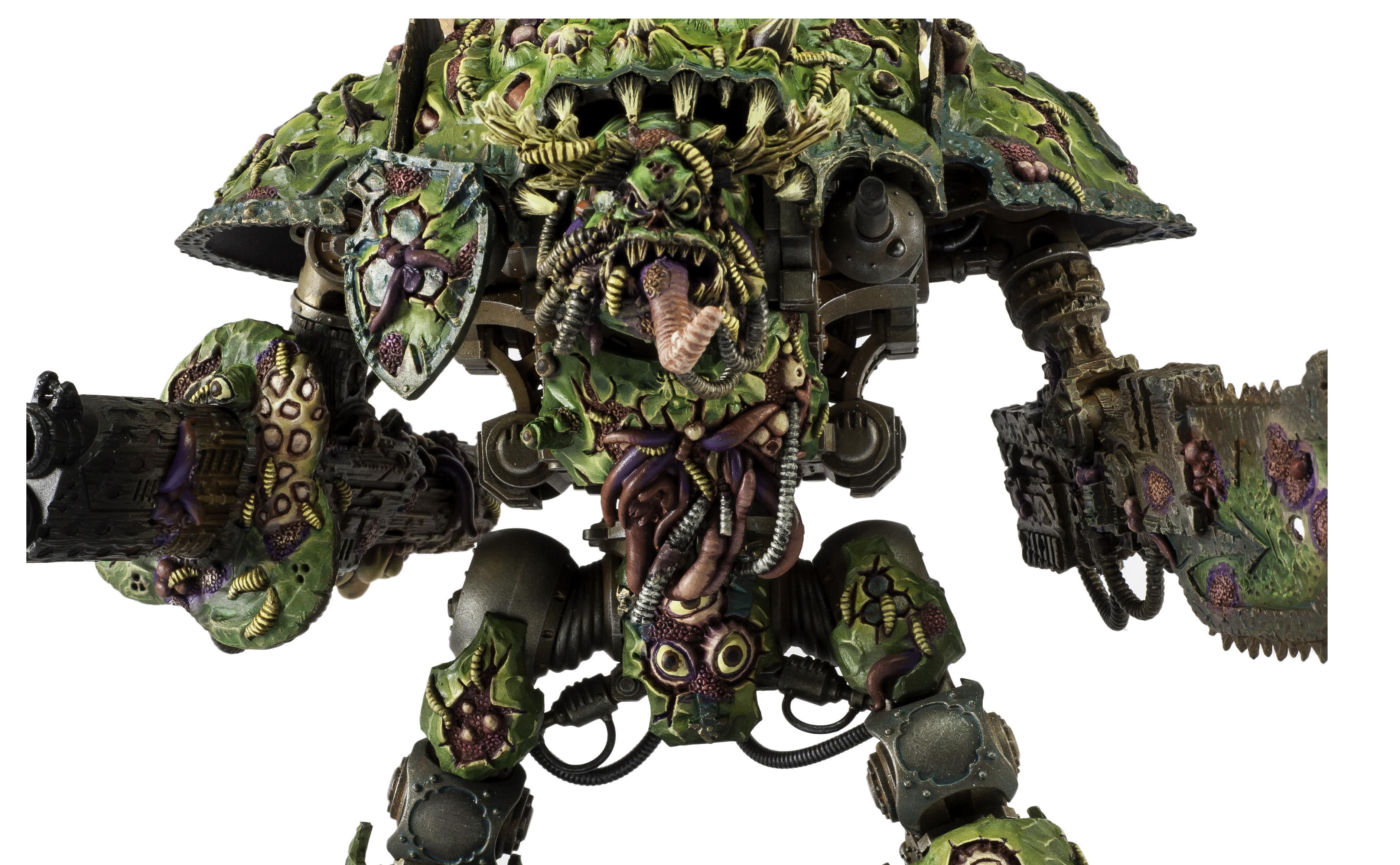 Chaos Daemons, Chaos Space Marines, Greenstuff, Knights, Nurgle, Warhammer 40,000