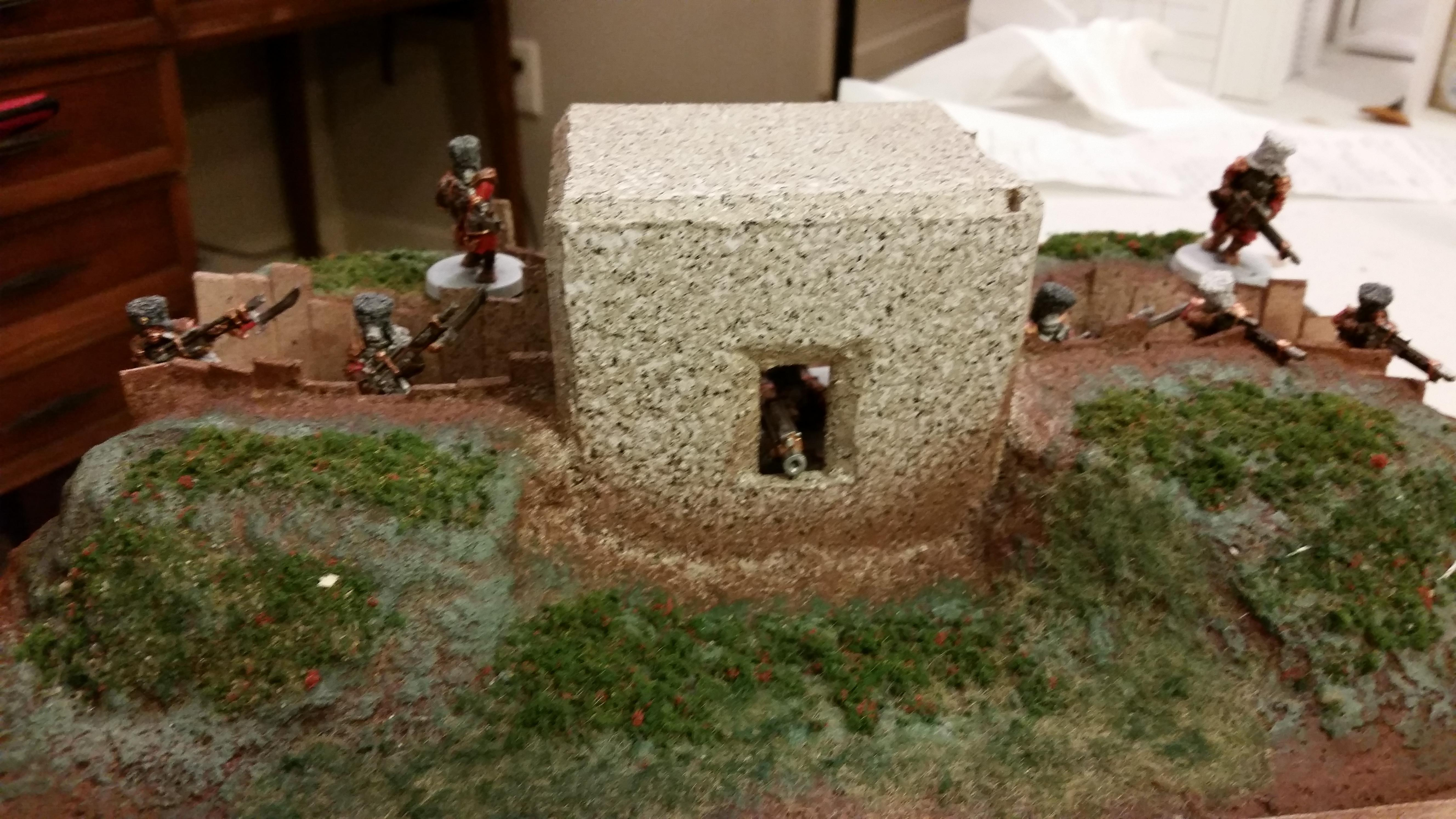 Bunker, Imperial Guard, Vostroyan