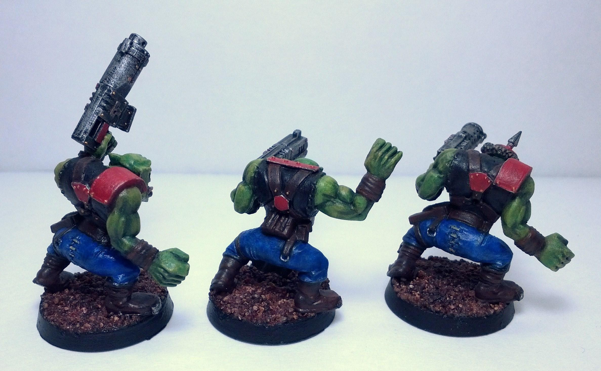 Boy, Conversion, Orks, Shoota