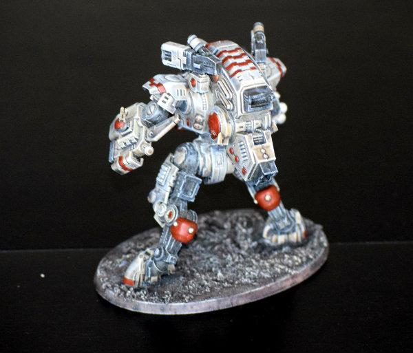 Tau Empire, Ghostkeel rear