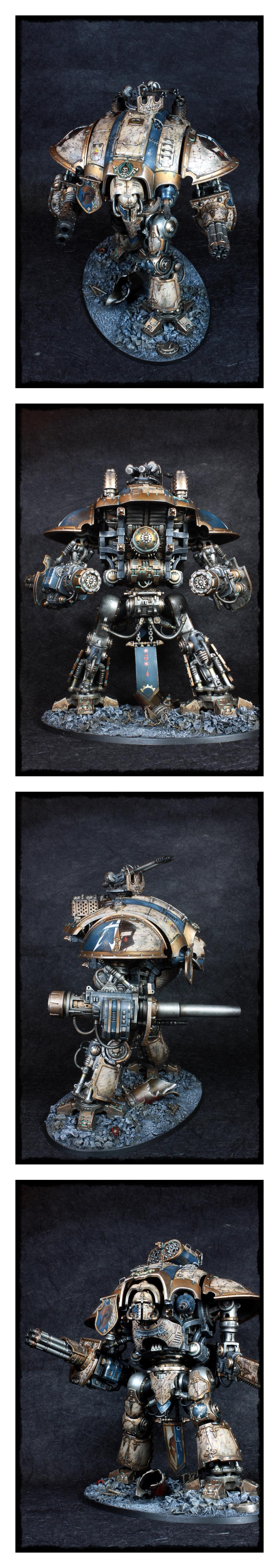 'the Orphan's Wrath', Achlys Iii, Freeblade, Imperial Knight, Knight Titan, Magnet, Marble, Sarpedon, Warhammer 40,000
