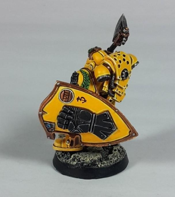Adeptus Astartes, Imperial Fists, Phalanx Warder, Space Marines, Warhammer 30k
