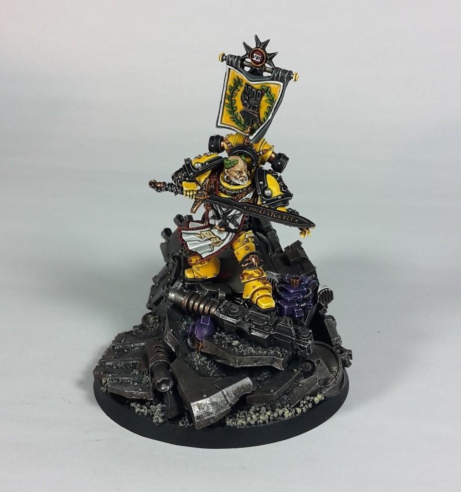 Imperial Fists, Captain Sigismund 01
