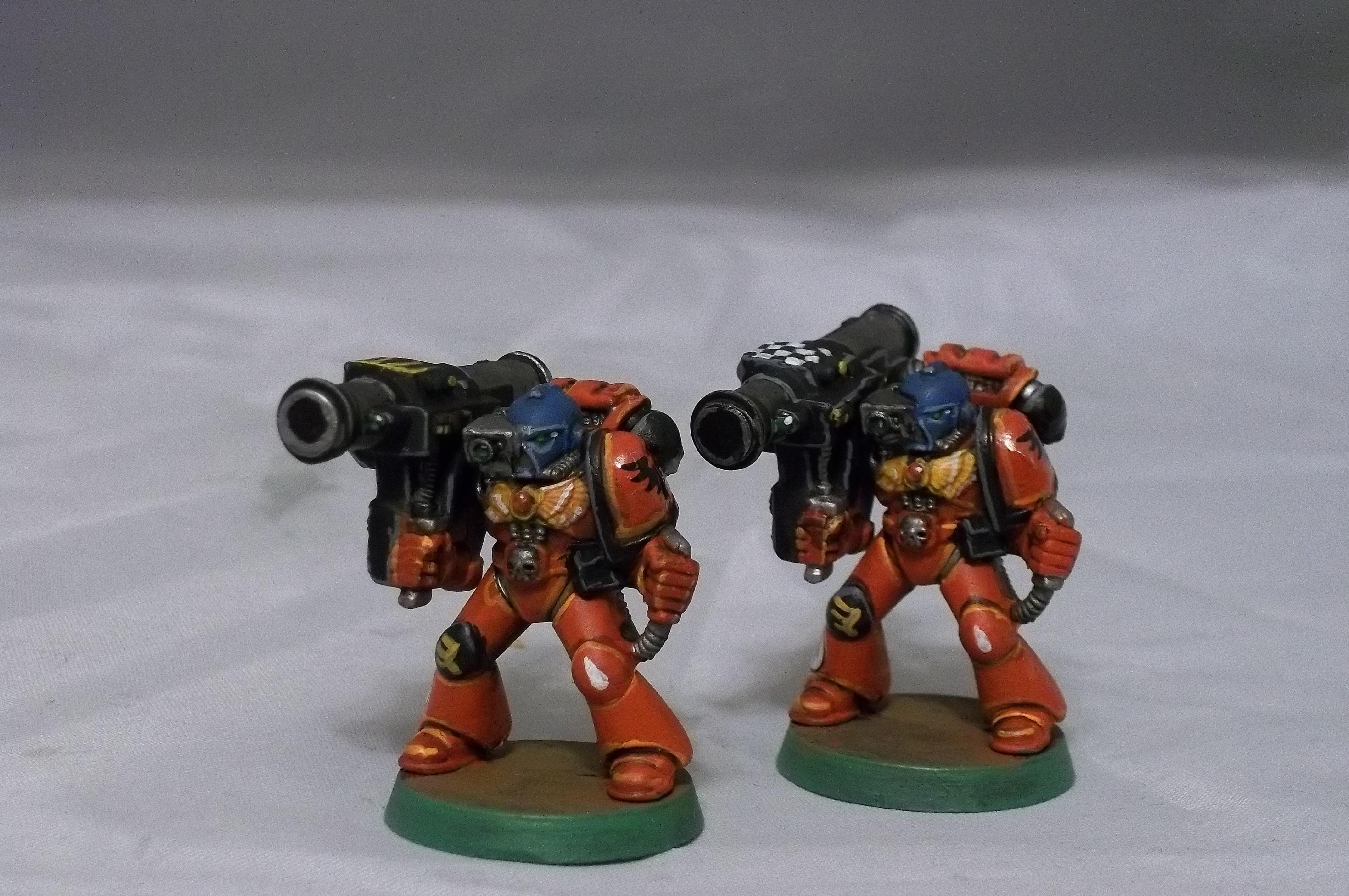 Blood Angels, Devastators, Retro, Space Marines