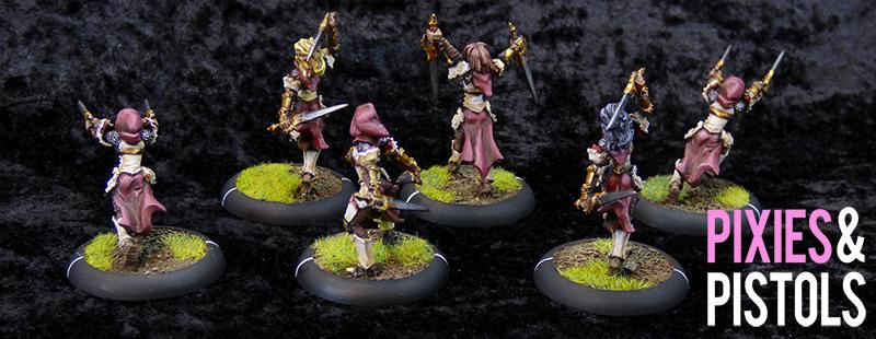 Black Widows, Daughters Of The Flame, Frontline Gaming, Miniatures, Pixiesandpistols, Privateer Press, Protectorate Of Menoth, Wargaming, Warmachine