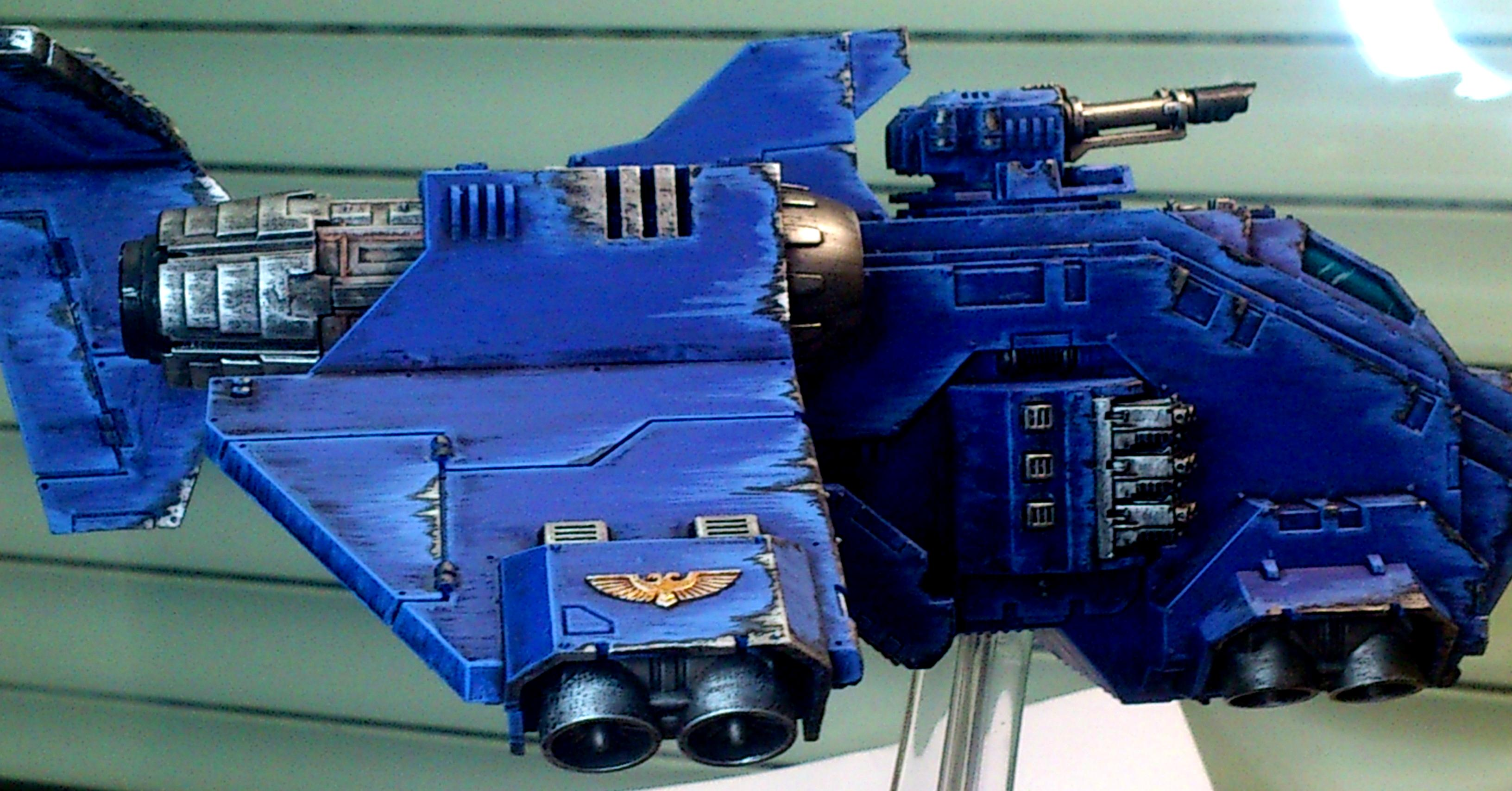 Flying, Plane, Stormraven, Ultramarines, Utra, Vehicle