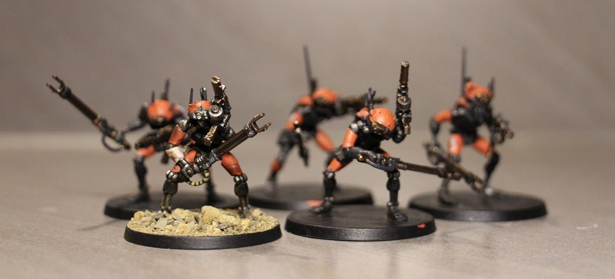 Inquisition, Mechanicus, Orange, Skitarii, War Convocation