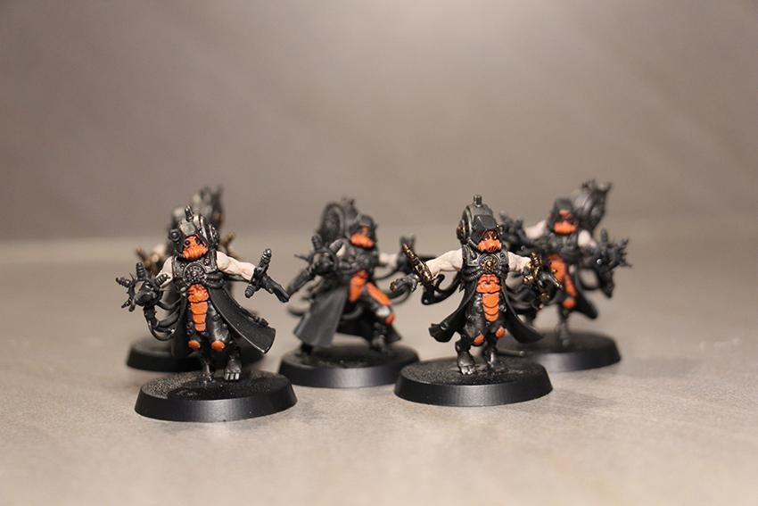 Inquisition, Mechanicus, Orange, Skitarii, War Convocation