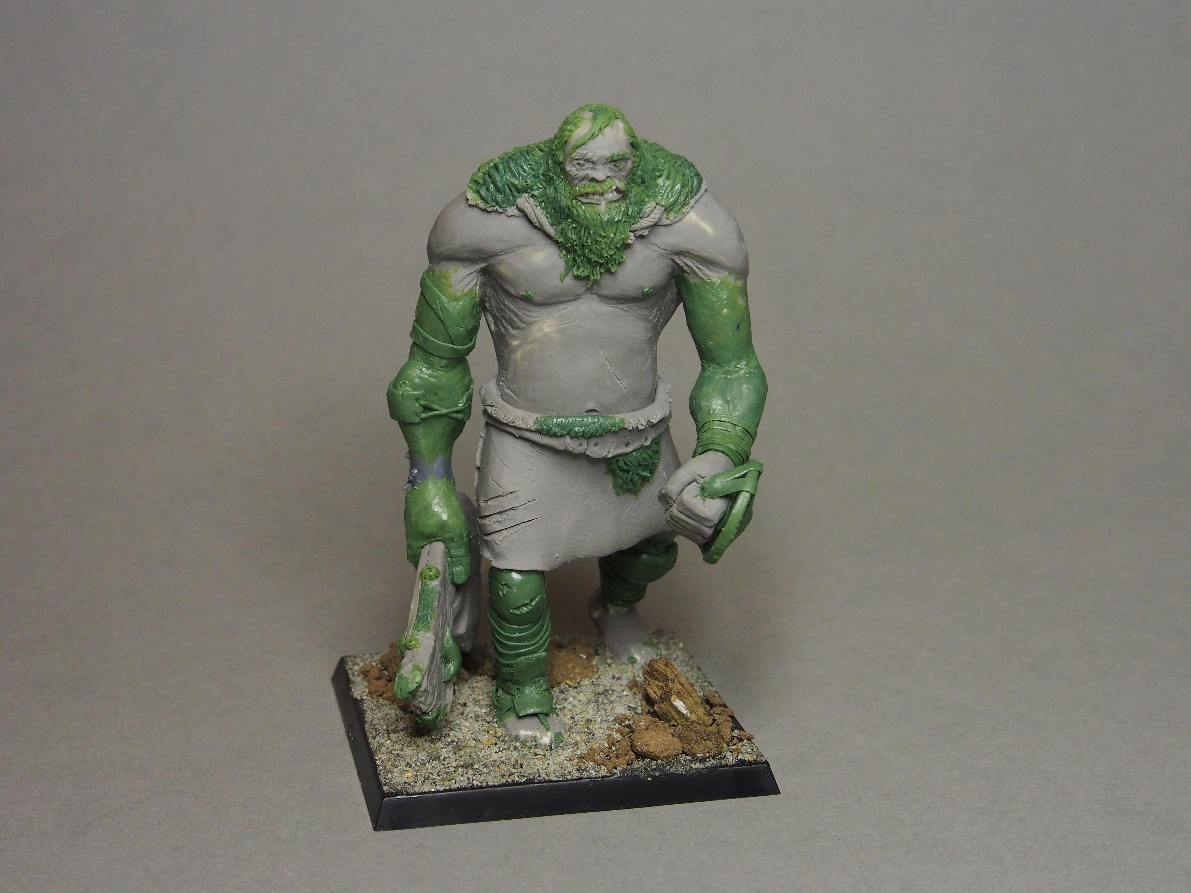 Giant, Greenstuff, Sculpting