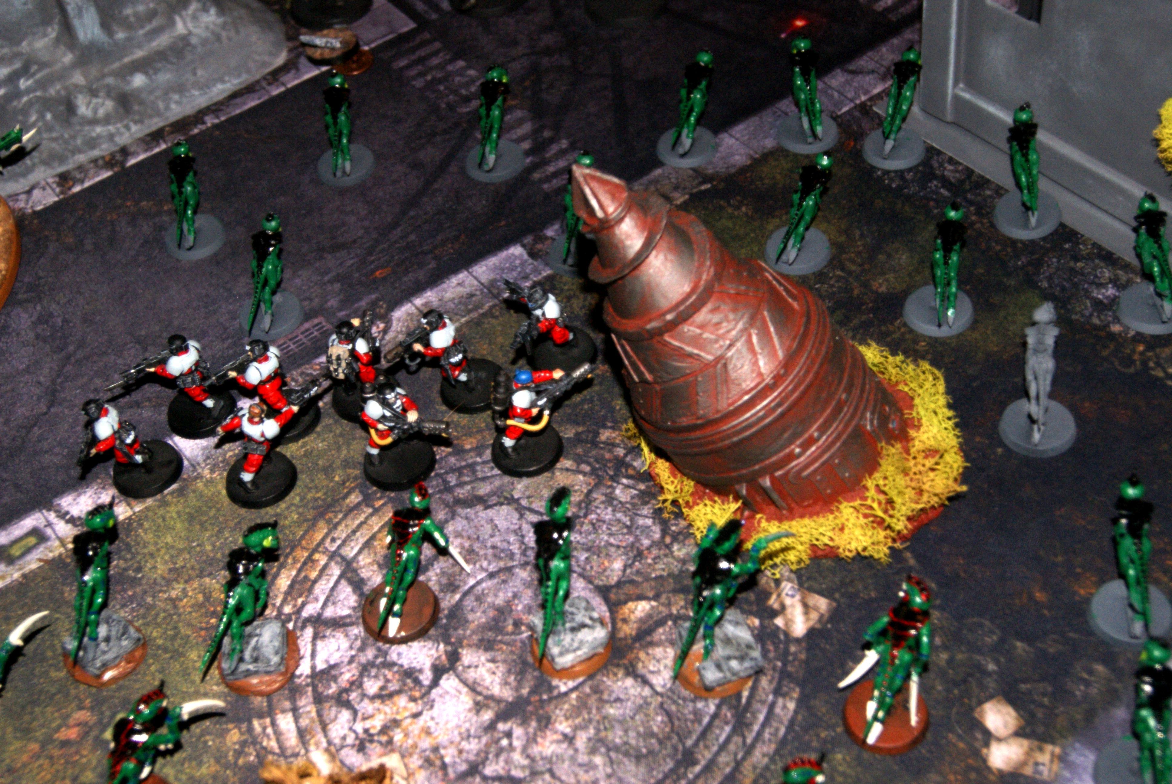 Drop Pod, Imperial Guard, Termite, Tunneler