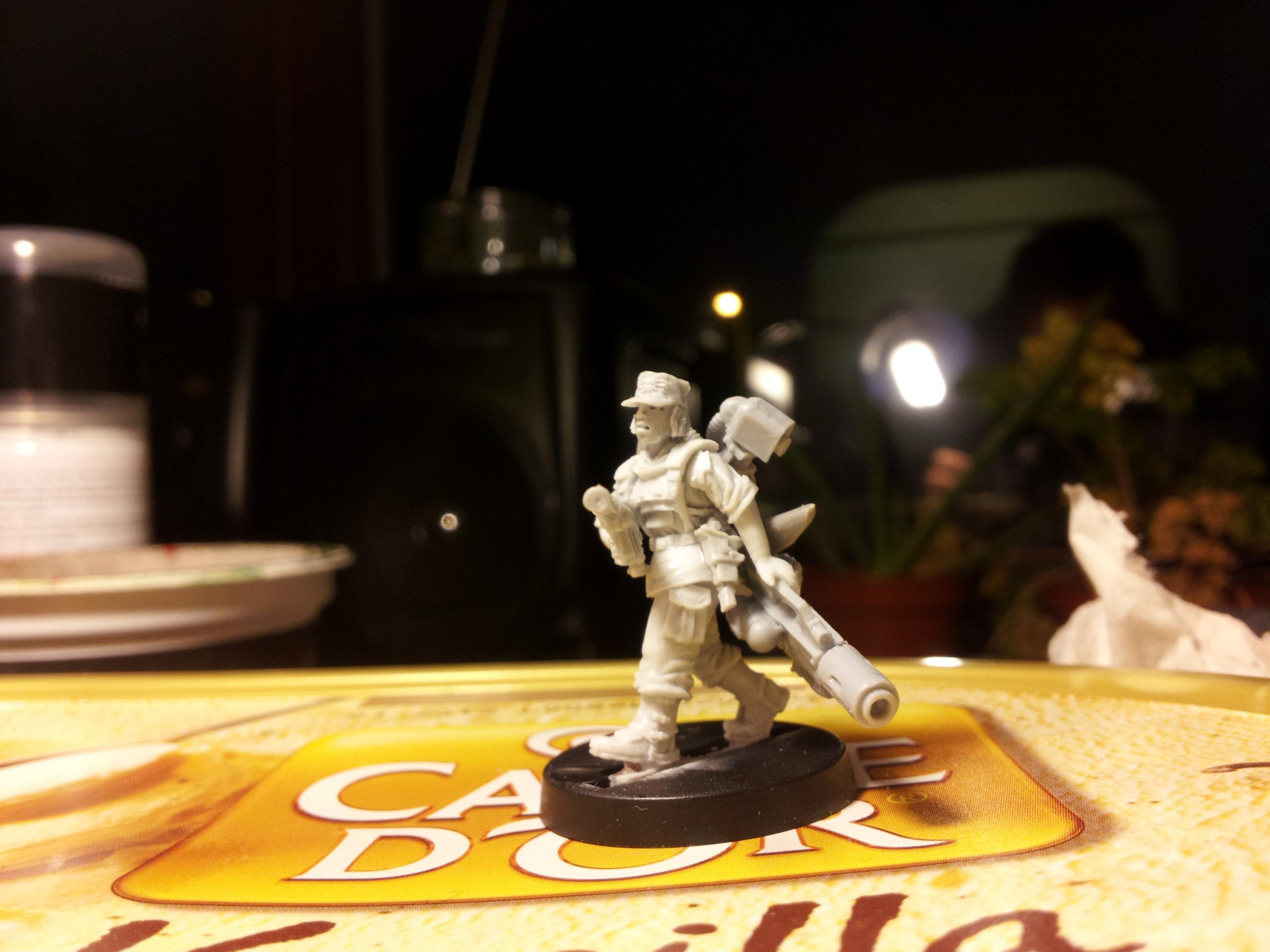 Female, Gang, Imperial Guard, Inquisimunda, Kill Team, Necromunda, Vic, Victoria Miniatures, Warband