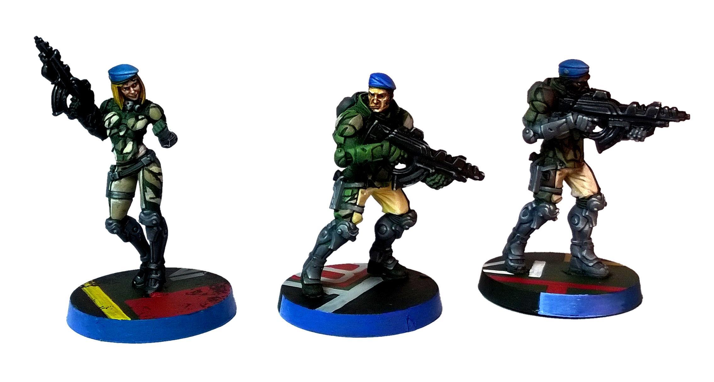 Belli, Camouflage, Corvus, Fusliers, Infinity, Panoceania