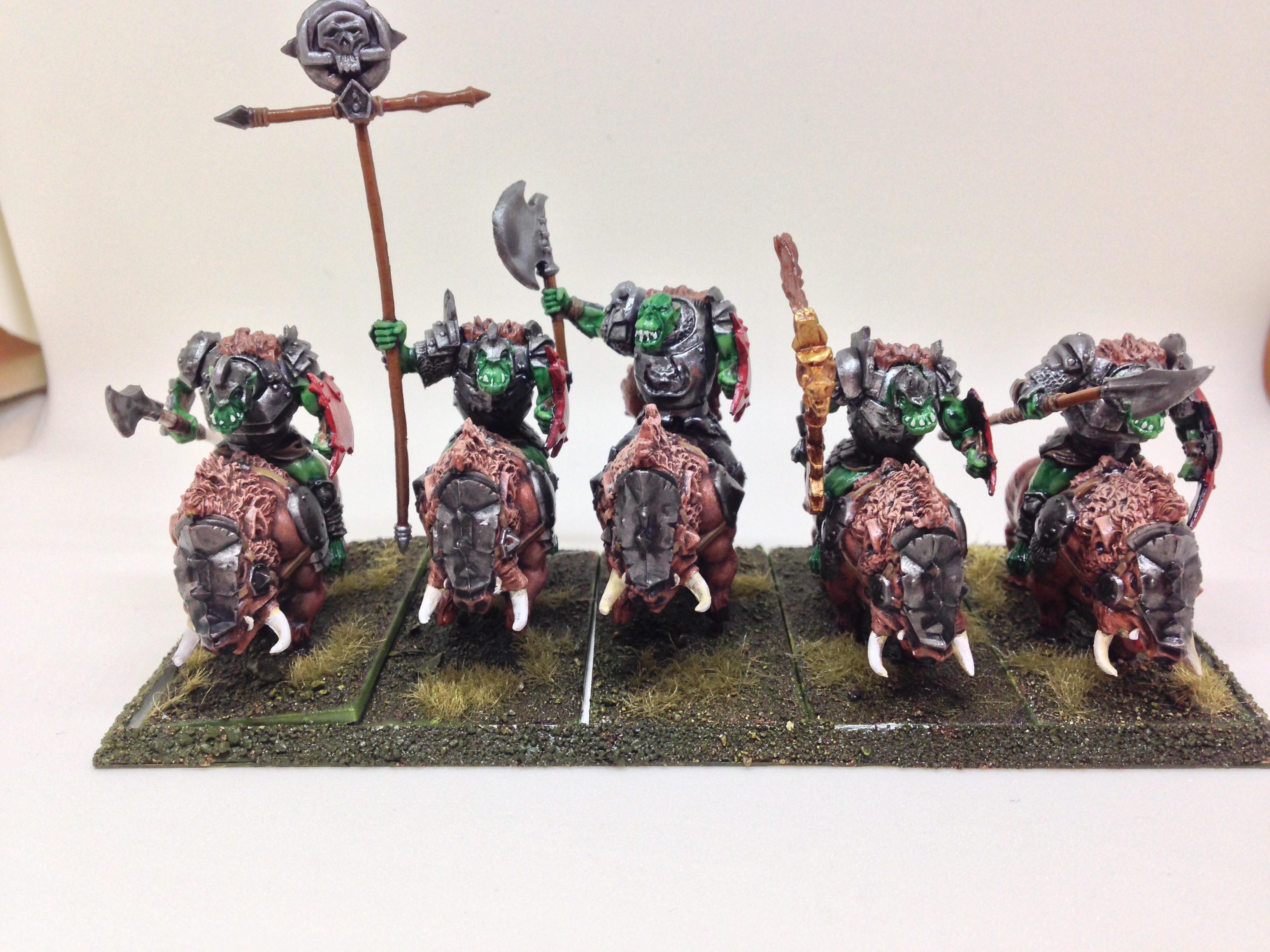 Boar, Mantic, Orcs, Restic