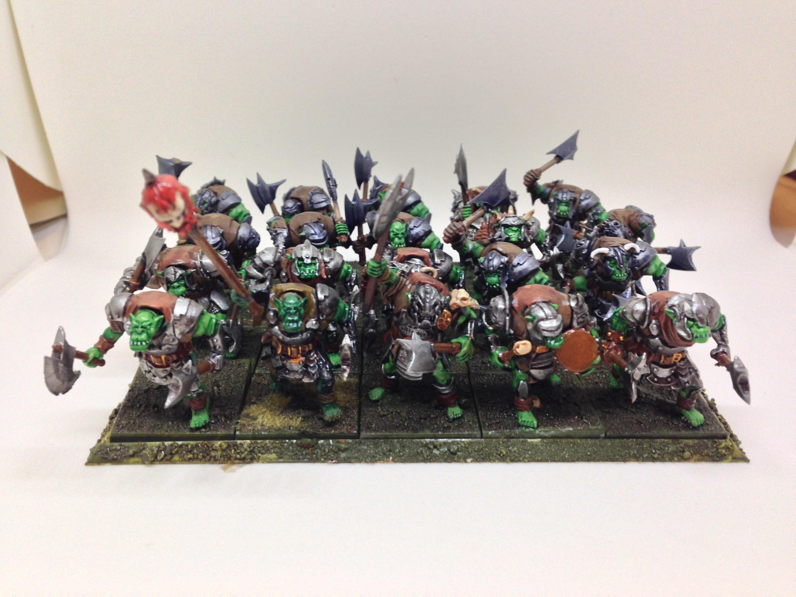 Infantry, Mantic, Orcs