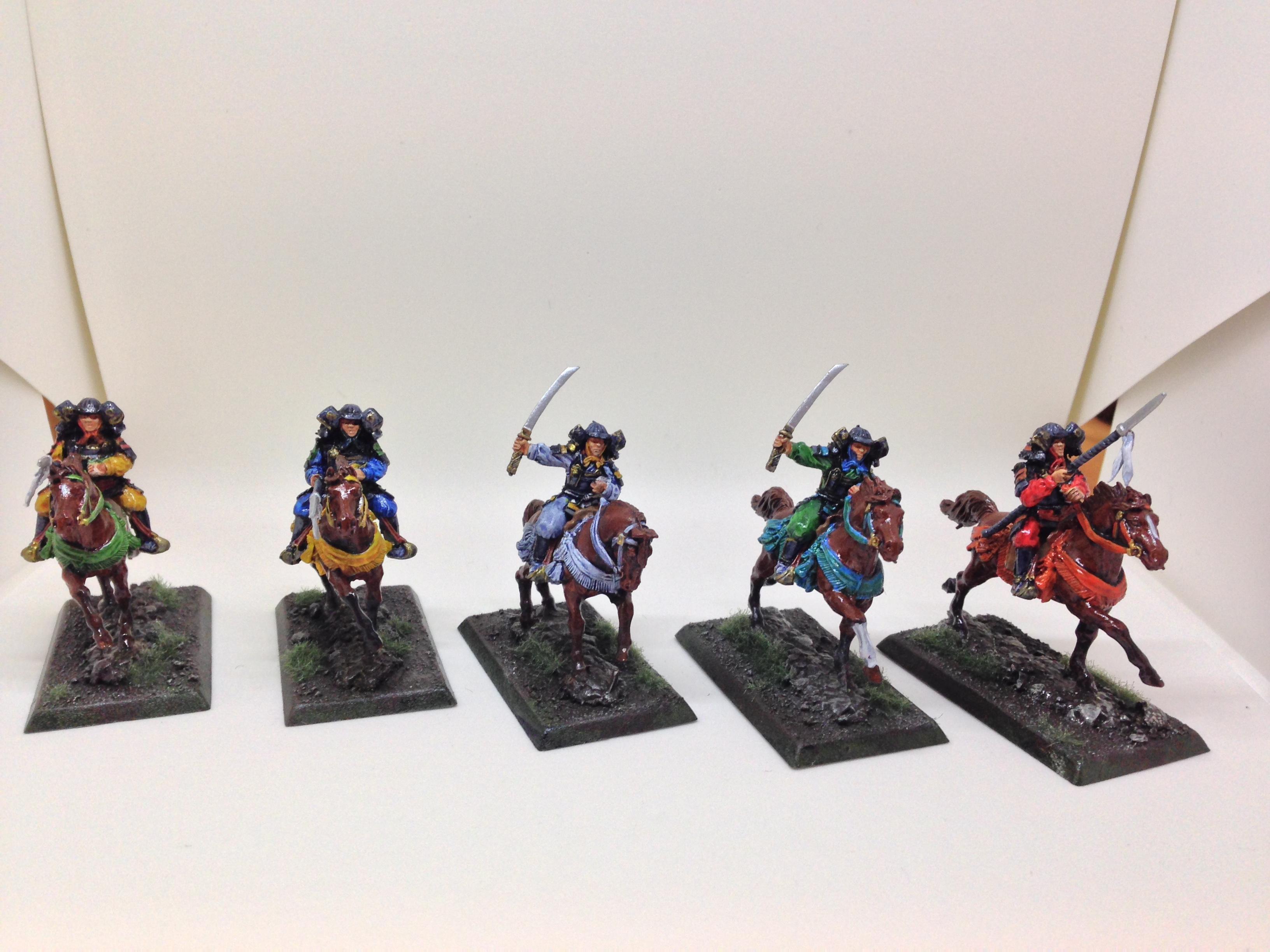 Cavalry, Clan War, Samurai