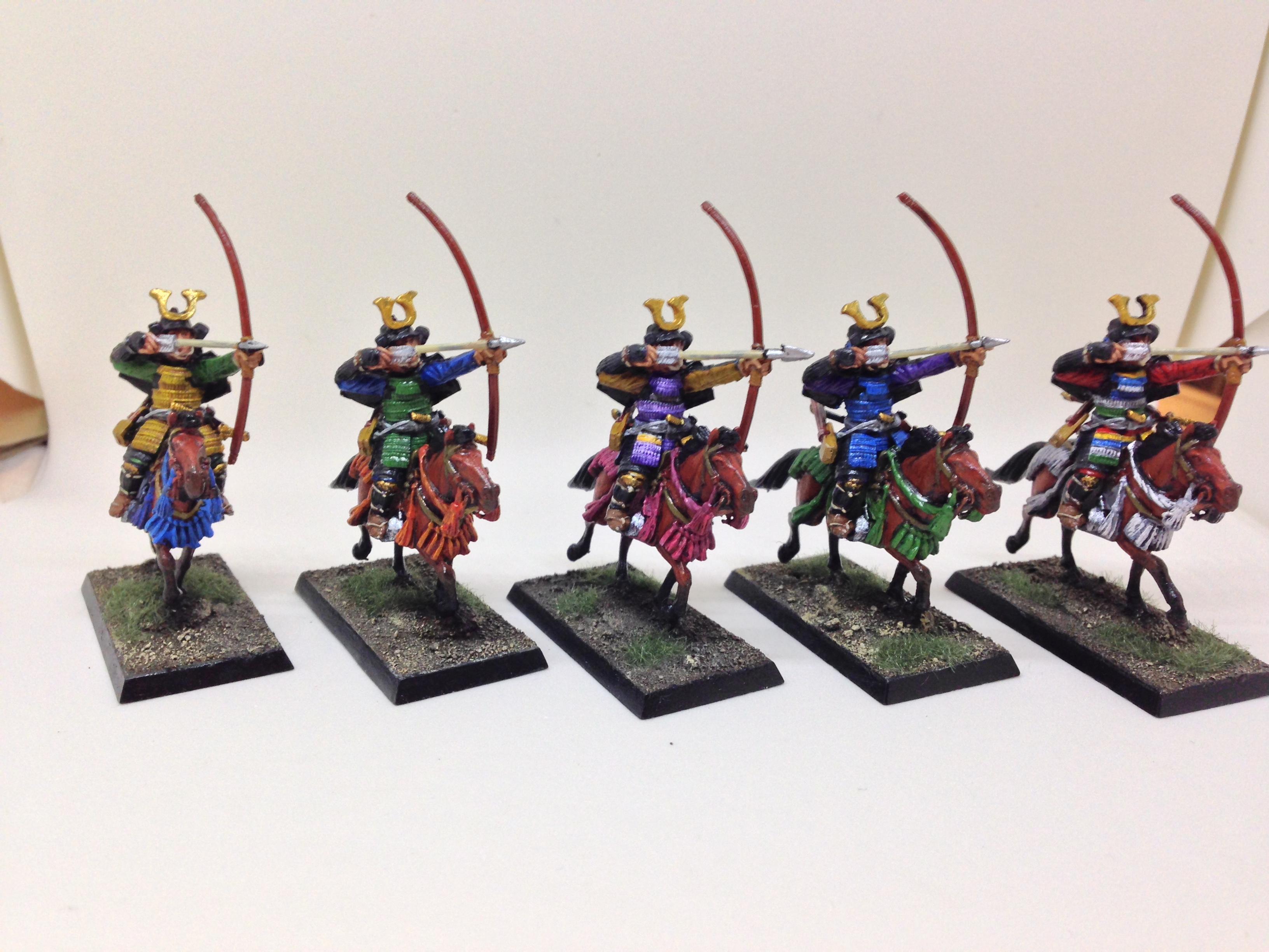Archers, Cavalry, Kingsford, Samurai