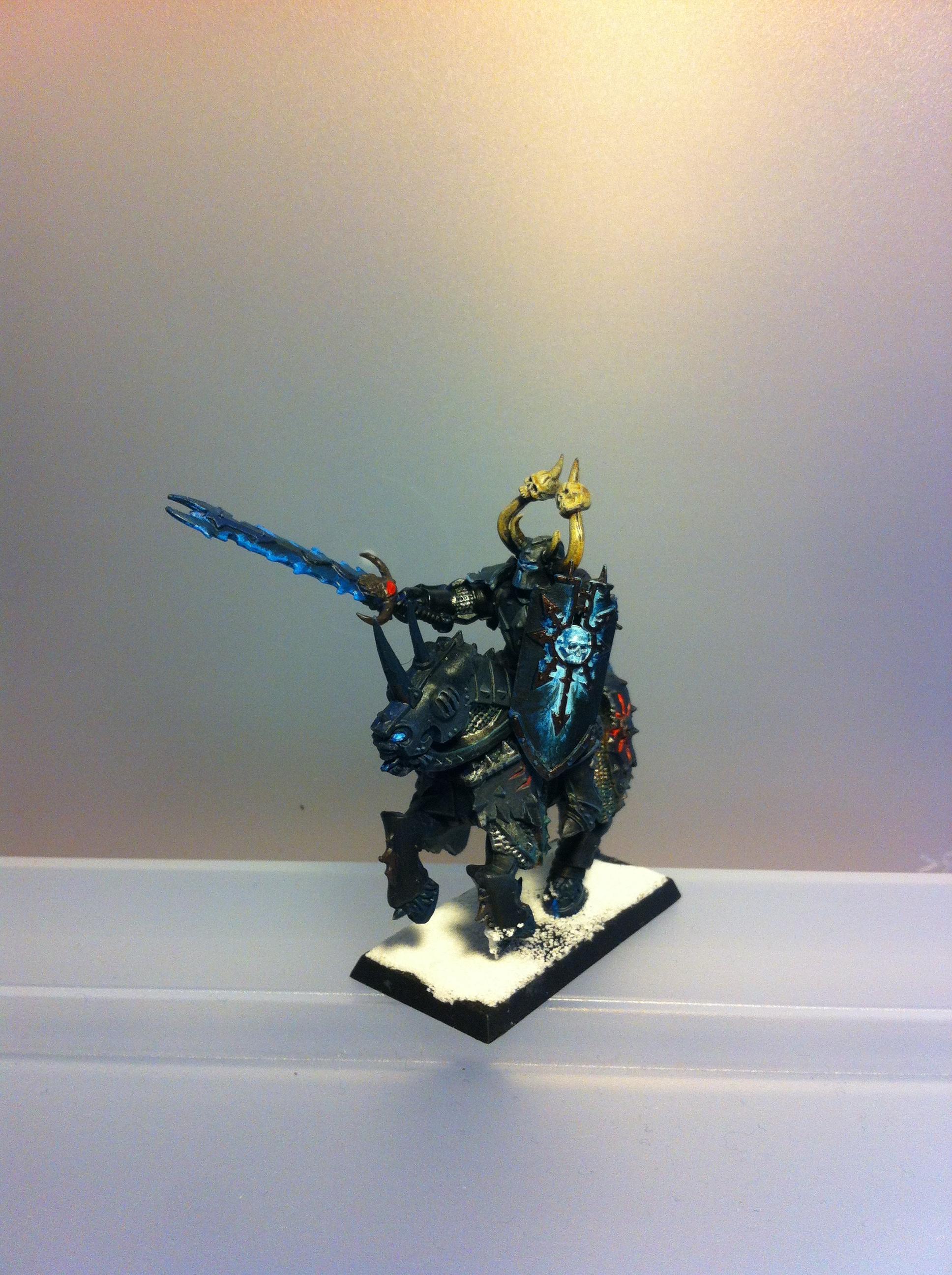 Chaos, Knights, Snow, Warhammer Fantasy