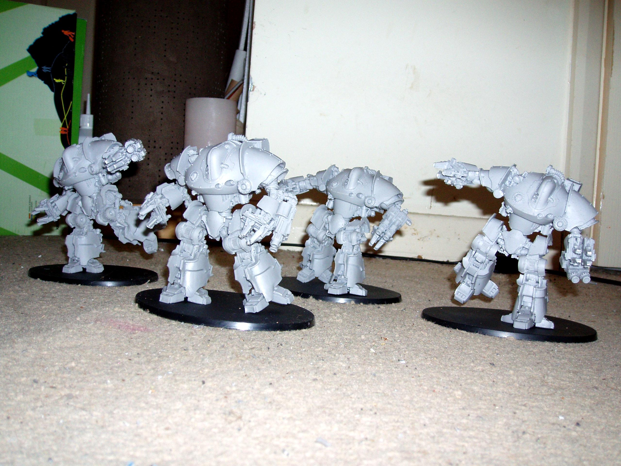 30k, Hh, Horus Heresy, Mechanicum, Monstorous Creature, Robots., Siege Automata, Taghmata Heavy Support, Thanatar, Thanatar Squad