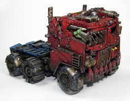 Orks, Transformers, Trukk