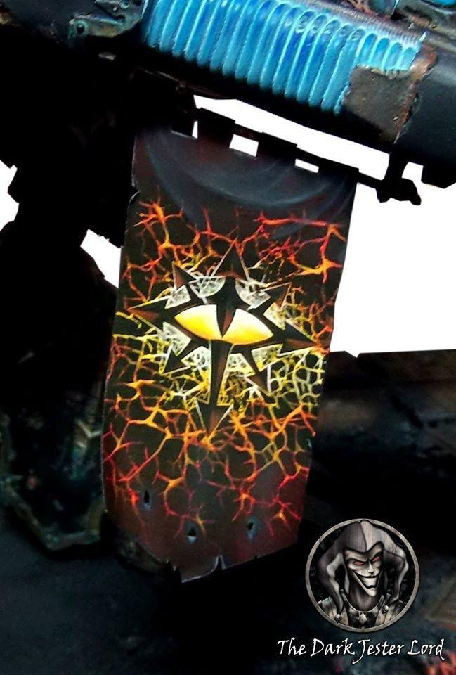 Banner, Black Legion, Chaos, Warhound