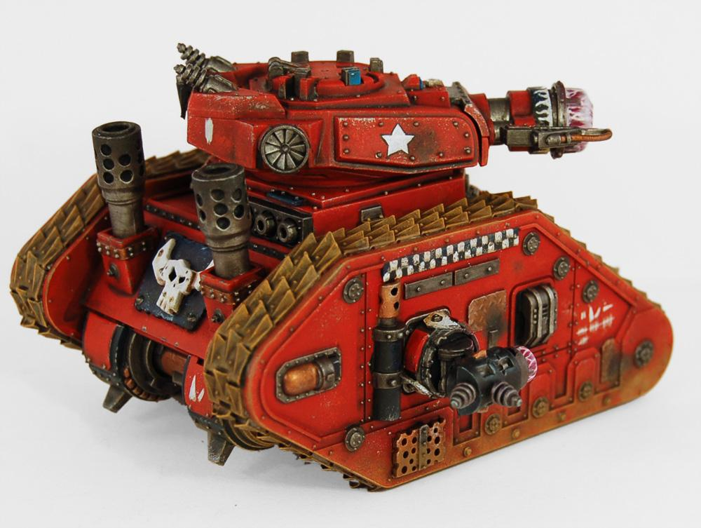 Battlewagon, Goblins, Greenskins, Gretchin, Grots, Gunwagon, Leman Russ, Leman Russ Executioner, Looted Wagon, Orks, Plasma, Plasma Russ, Tank, Warhammer 40,000