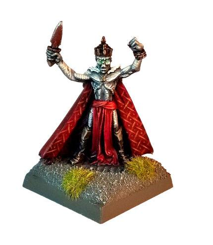 Brain, Classic, Dungeons And Dragons, King, Lich, Orcus, Undead