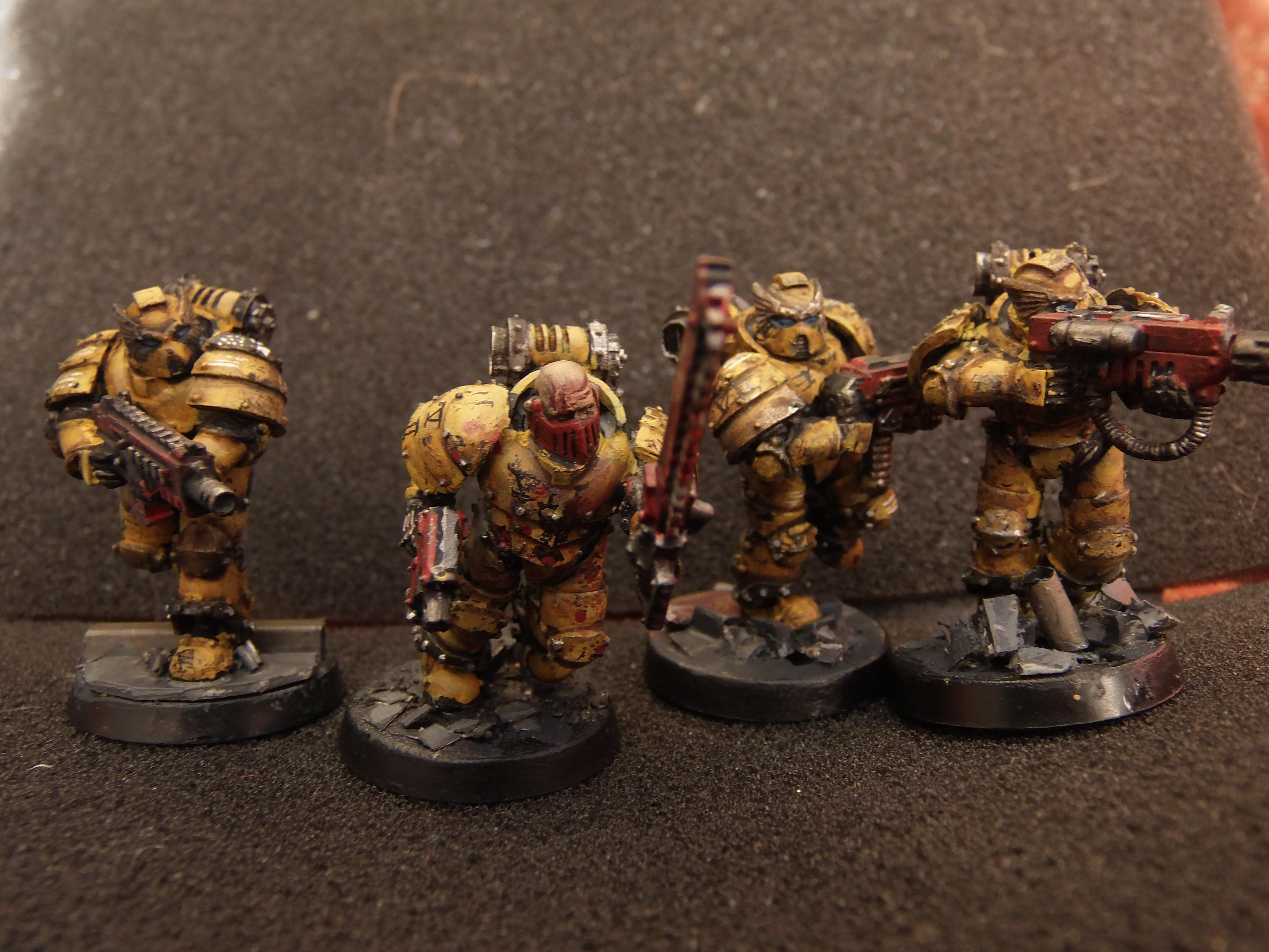 Anvil, First Company, Horus Heresy, Imperial Fists, Space Marines, Veteran, Warhammer 40,000