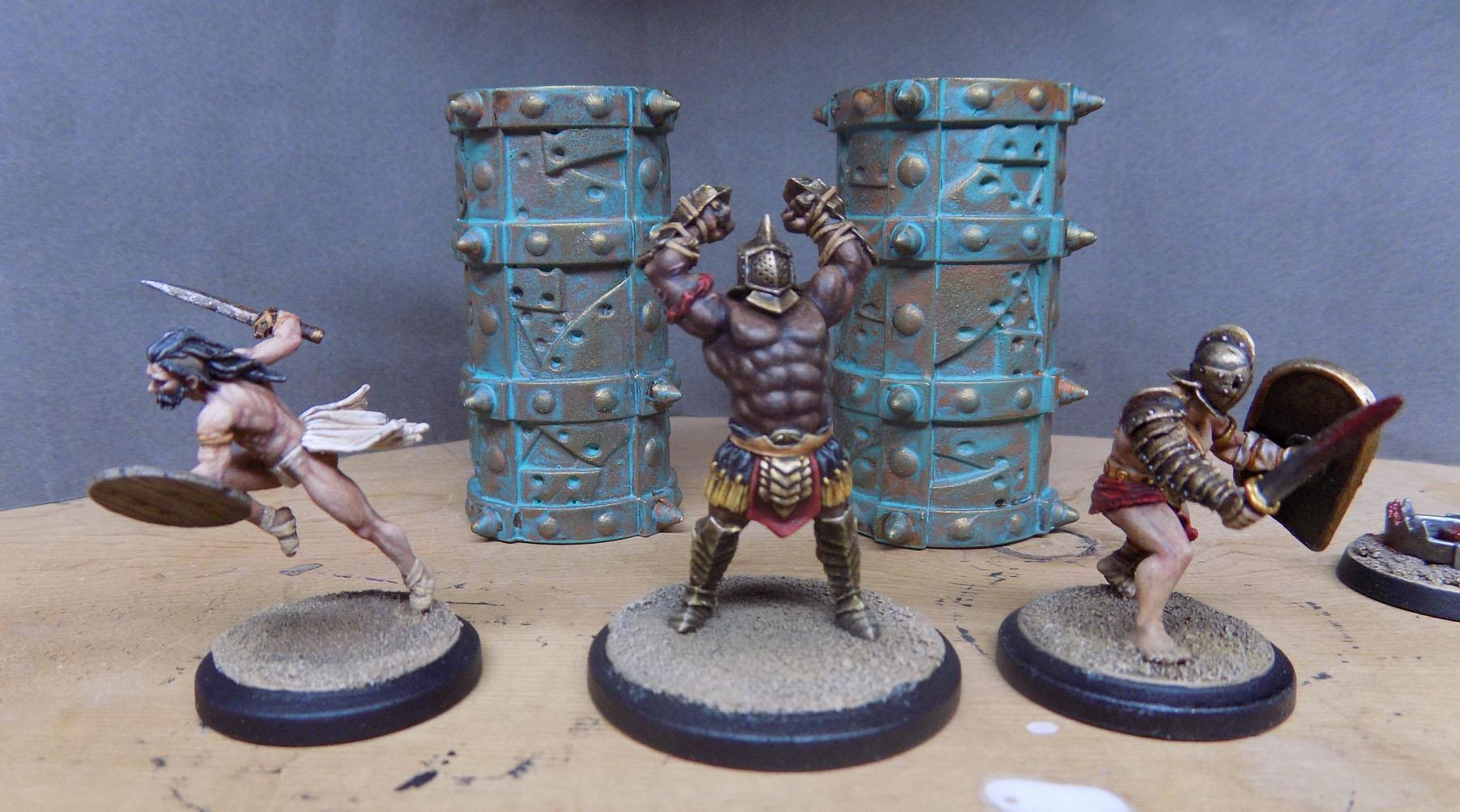 Arena Rex, Gladiators, Micon, Noxius, Red Republic, Rrg, Urbicus
