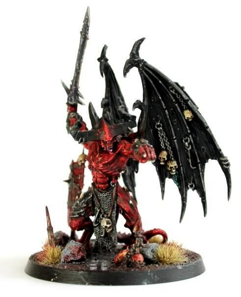 Daemon Prince, Daemons, Gaming, Heresy, Horus Heresy, Linus, Miniatures, Prince, Sweden, Warhammer 30k, Warhammer 40,000, Warhammer Fantasy