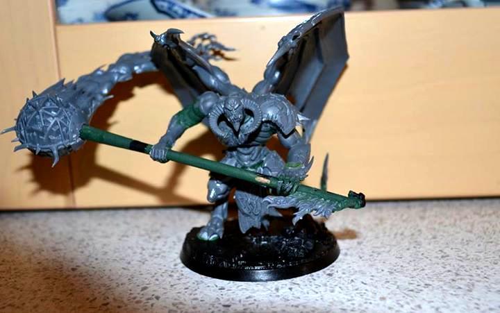 Armor, Black Mace, Daemons, Fire, Horns, Khorne, Nurgle, Prince, Skull, Tzeentch, Winged