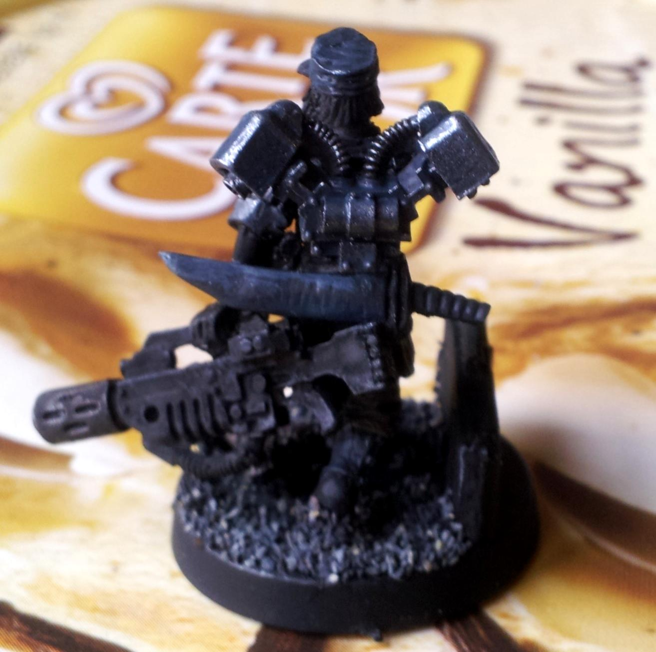 Drop Troops, Female, Gang, Imperial Guard, Inquisimunda, Kill Team, Necromunda, Vic, Victoria Miniatures, Warband, Work In Progress