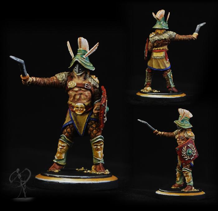 Arena Rex, Gladiators, Hermes, Historical, Non-Metallic Metal