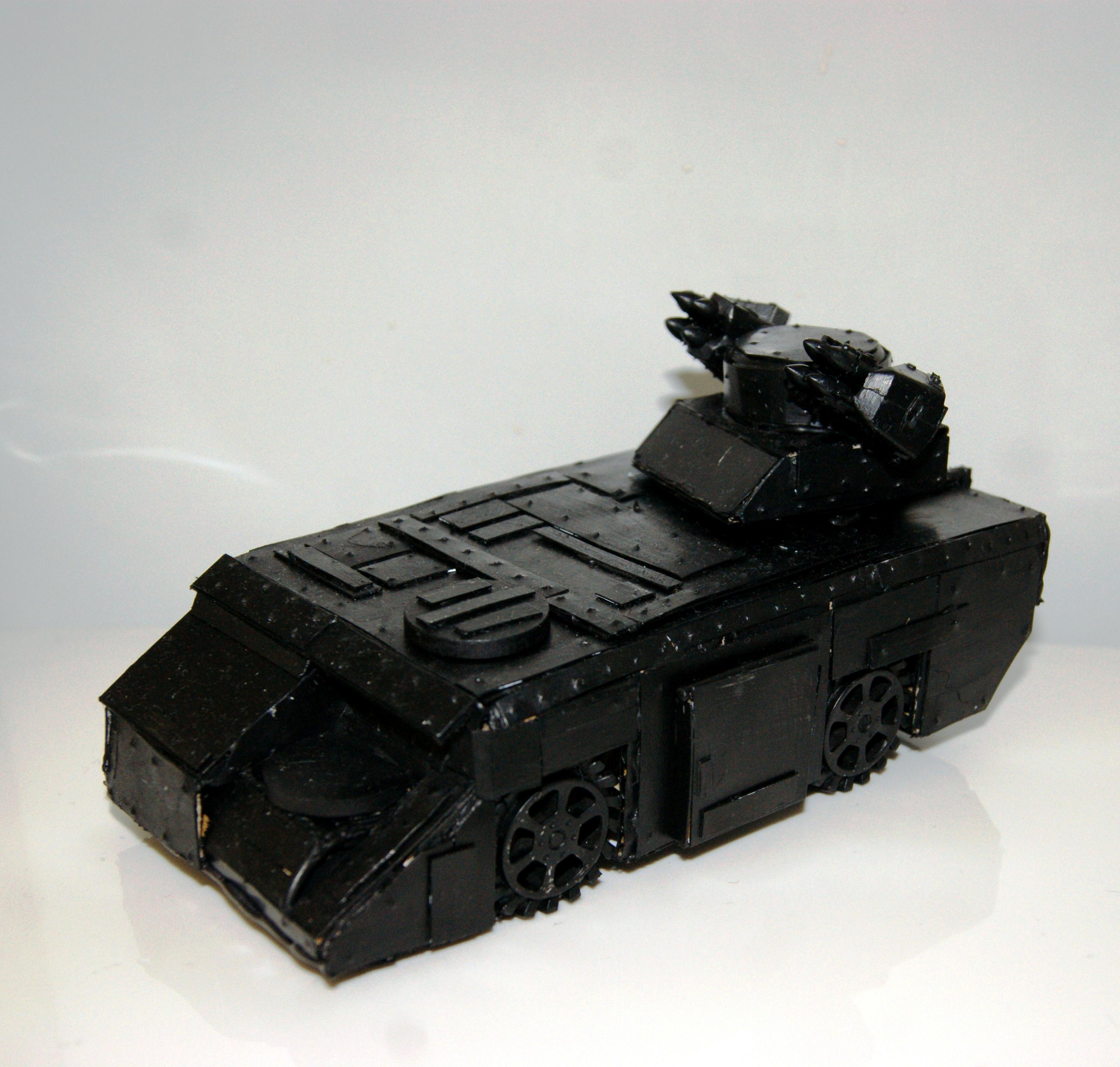 Aliens, Apc, Commission, Conversion, Imperial Guard, Scions, Scratch Build, Warhammer 40,000, Warhammer Fantasy
