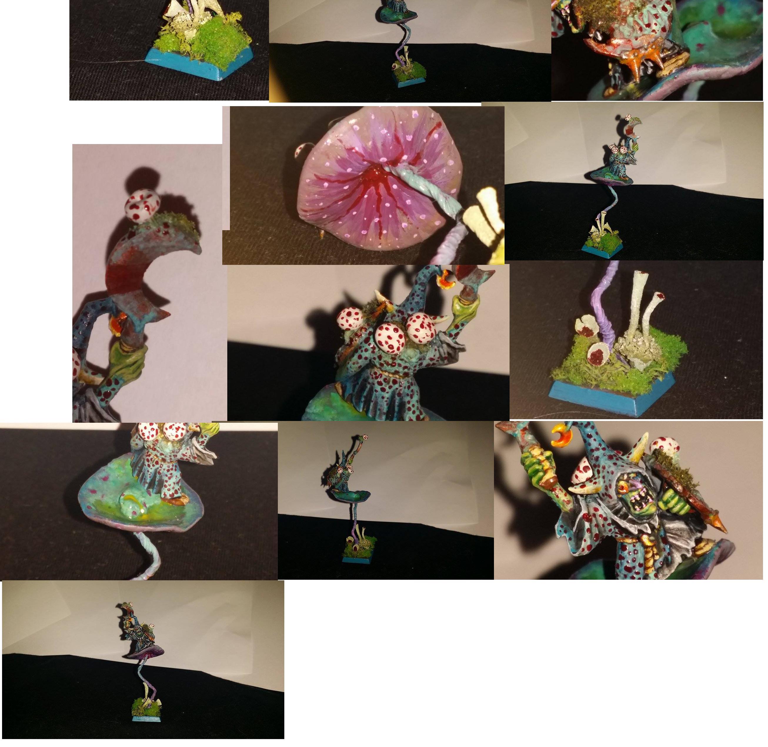 Champion, Fungus, Goblins, Greenstuff, Moss, Mushroom, Night, Plants, Sculpted, Sculpting, Slime, Slimey, Slimy, Wildlife