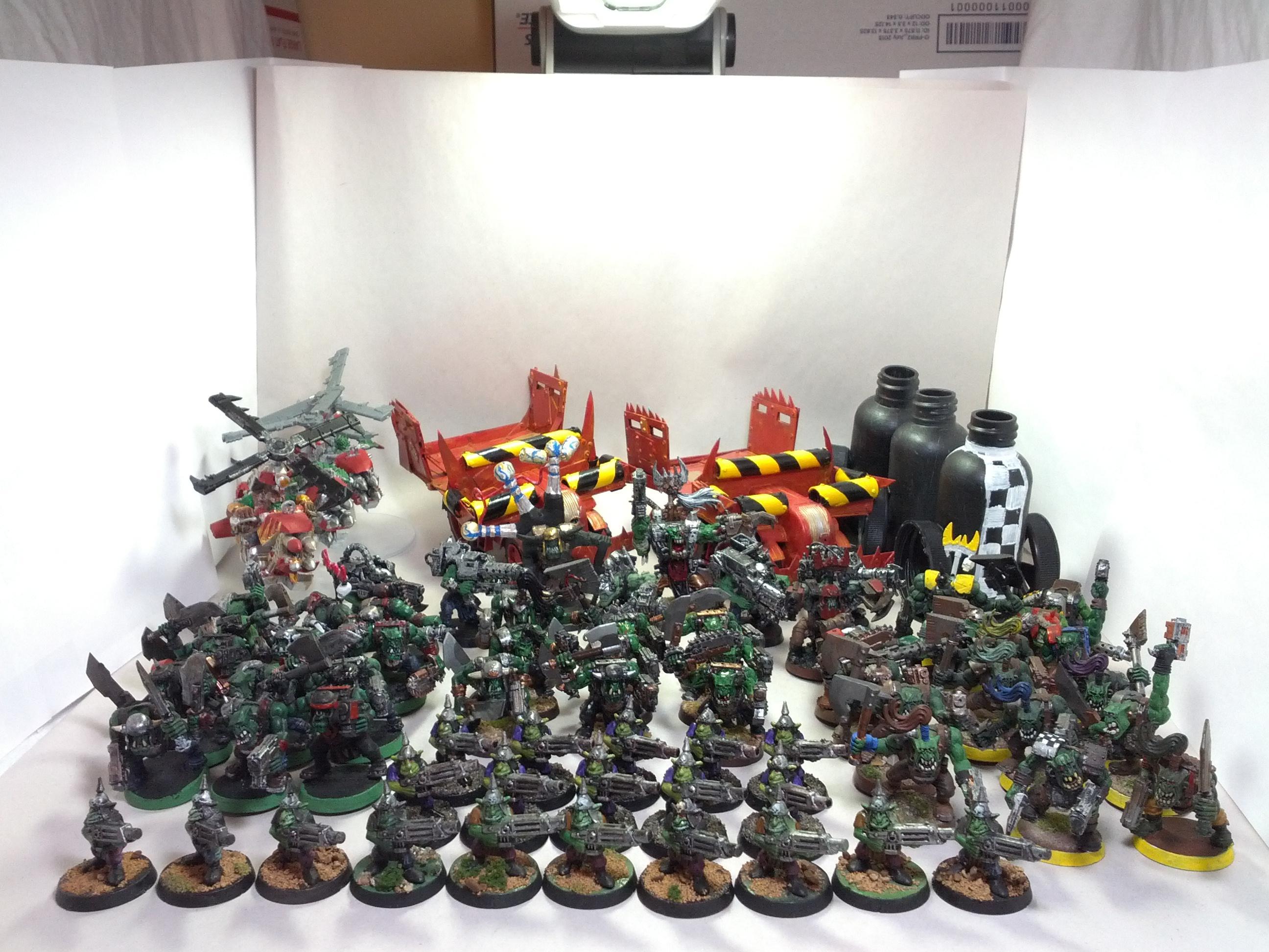 Army, Orks, My Ork Army 2013