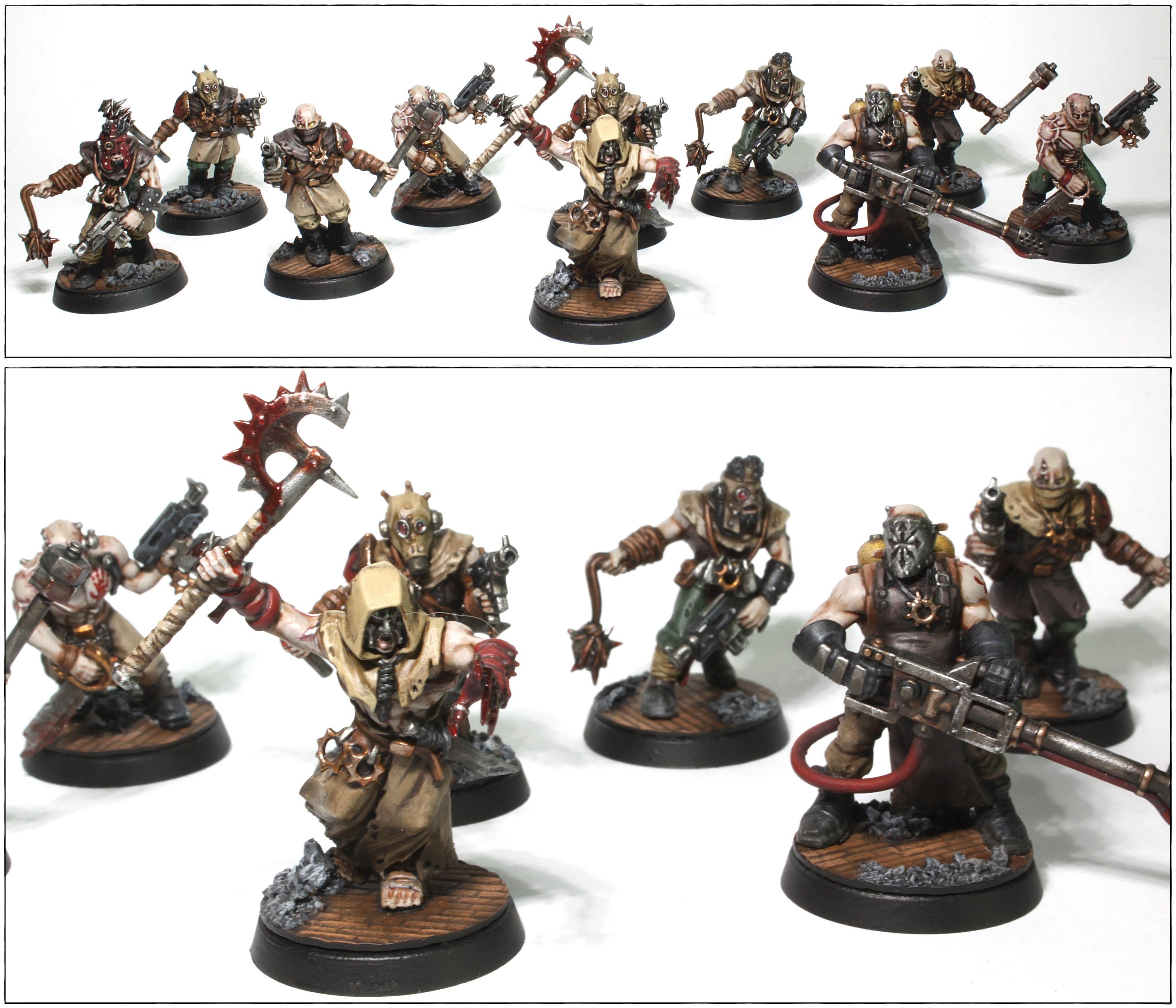 Chaos, Chaos Cultists, Crimson Slaughter, Dark Vengeance, Sect Anarkus, Warhammer 40,000