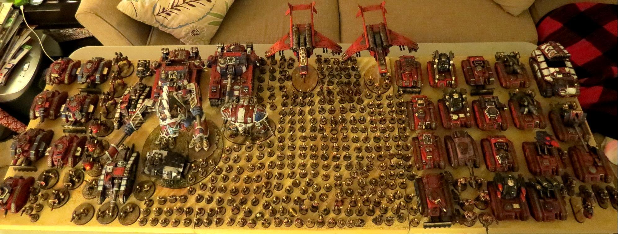 Armored Company, Army, Imperial Guard, Knights, Praetorians, Shadowsword, Titan, Warhound