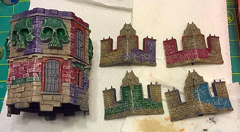 tower pieces